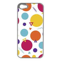 Background Polka Dot iPhone 5 Case (Silver)