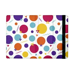 Background Polka Dot Apple iPad Mini Flip Case