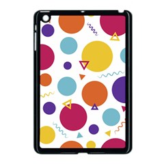 Background Polka Dot Apple iPad Mini Case (Black)