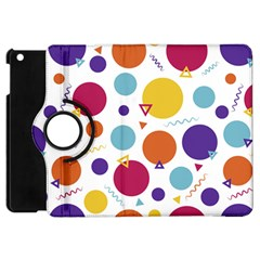 Background Polka Dot Apple iPad Mini Flip 360 Case