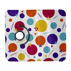 Background Polka Dot Samsung Galaxy S  III Flip 360 Case