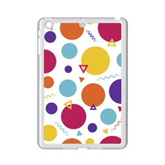 Background Polka Dot iPad Mini 2 Enamel Coated Cases