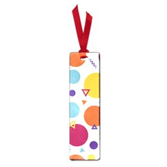 Background Polka Dot Small Book Marks