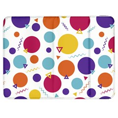 Background Polka Dot Samsung Galaxy Tab 7  P1000 Flip Case