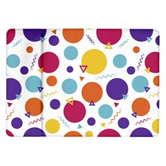 Background Polka Dot Samsung Galaxy Tab 10.1  P7500 Flip Case