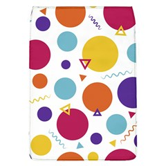 Background Polka Dot Removable Flap Cover (L)
