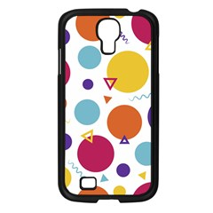 Background Polka Dot Samsung Galaxy S4 I9500/ I9505 Case (Black)