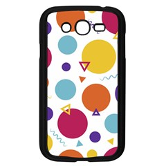 Background Polka Dot Samsung Galaxy Grand DUOS I9082 Case (Black)