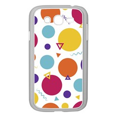 Background Polka Dot Samsung Galaxy Grand DUOS I9082 Case (White)