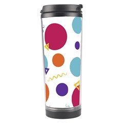 Background Polka Dot Travel Tumbler