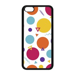 Background Polka Dot iPhone 5C Seamless Case (Black)