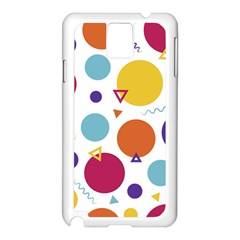 Background Polka Dot Samsung Galaxy Note 3 N9005 Case (White)