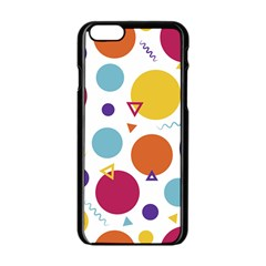 Background Polka Dot iPhone 6/6S Black Enamel Case