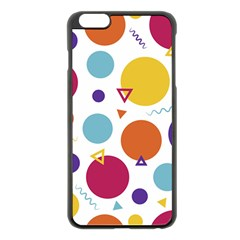 Background Polka Dot iPhone 6 Plus/6S Plus Black Enamel Case