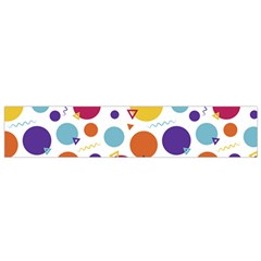 Background Polka Dot Small Flano Scarf