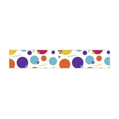 Background Polka Dot Flano Scarf (Mini)