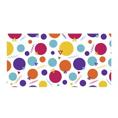 Background Polka Dot Satin Wrap