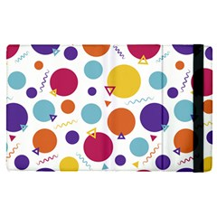 Background Polka Dot Apple iPad Mini 4 Flip Case