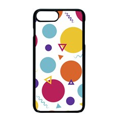 Background Polka Dot iPhone 7 Plus Seamless Case (Black)