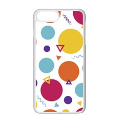 Background Polka Dot iPhone 7 Plus Seamless Case (White)