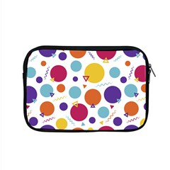 Background Polka Dot Apple MacBook Pro 15  Zipper Case