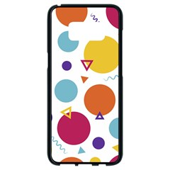 Background Polka Dot Samsung Galaxy S8 Black Seamless Case