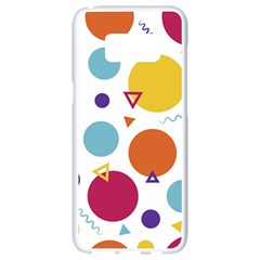 Background Polka Dot Samsung Galaxy S8 White Seamless Case
