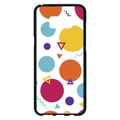 Background Polka Dot Samsung Galaxy S8 Plus Black Seamless Case
