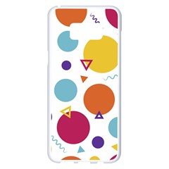 Background Polka Dot Samsung Galaxy S8 Plus White Seamless Case