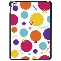 Background Polka Dot Apple iPad Pro 9.7   Black Seamless Case