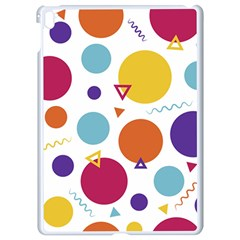 Background Polka Dot Apple iPad Pro 9.7   White Seamless Case
