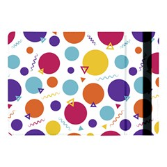 Background Polka Dot Apple iPad Pro 10.5   Flip Case