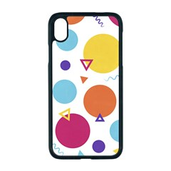 Background Polka Dot iPhone XR Seamless Case (Black)