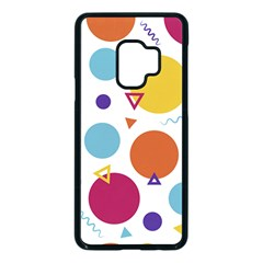 Background Polka Dot Samsung Galaxy S9 Seamless Case(Black)