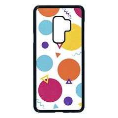 Background Polka Dot Samsung Galaxy S9 Plus Seamless Case(Black)