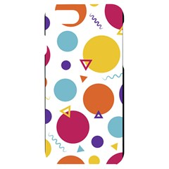 Background Polka Dot iPhone 7/8 Black UV Print Case