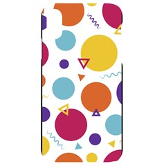 Background Polka Dot iPhone XR Black UV Print Case