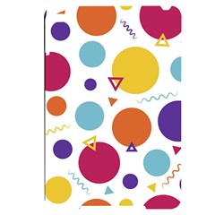 Background Polka Dot Apple iPad Mini 4 Black UV Print Case
