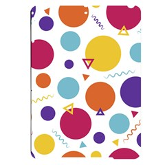 Background Polka Dot Apple iPad Pro 9.7   Black UV Print Case