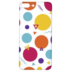 Background Polka Dot iPhone 7/8 Plus Soft Bumper UV Case
