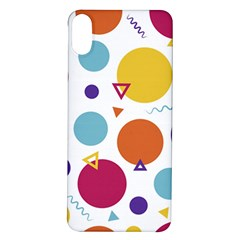Background Polka Dot iPhone X/XS Soft Bumper UV Case