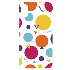 Background Polka Dot iPhone X/XS Black UV Print Case