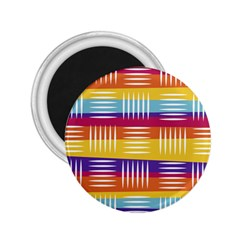 Background Line Rainbow 2.25  Magnets