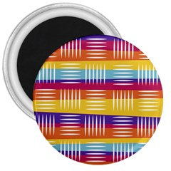 Background Line Rainbow 3  Magnets
