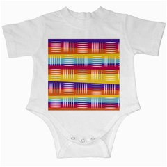 Background Line Rainbow Infant Creepers