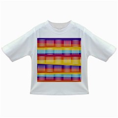 Background Line Rainbow Infant/Toddler T-Shirts
