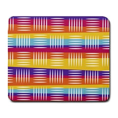 Background Line Rainbow Large Mousepads