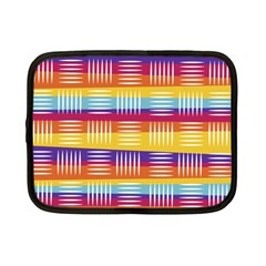 Background Line Rainbow Netbook Case (Small)