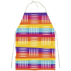Background Line Rainbow Full Print Aprons