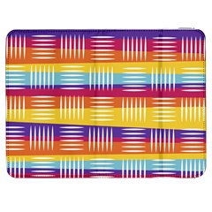 Background Line Rainbow Samsung Galaxy Tab 7  P1000 Flip Case by HermanTelo